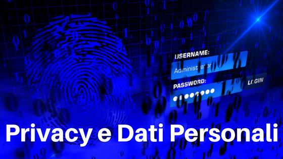 privacy e dati personali